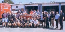 Hochwasserhilfe im Jahr 2002