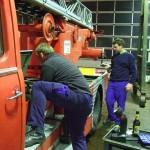 Restaurationsarbeiten an der DL30