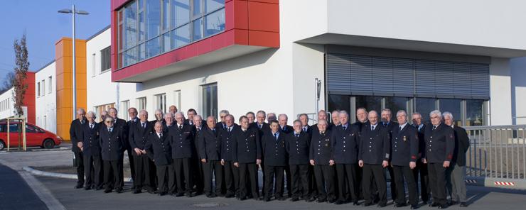 Ehrenabteilung im Jahr 2009