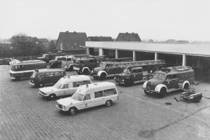 Püsselbürener Damm Fahrzeuge