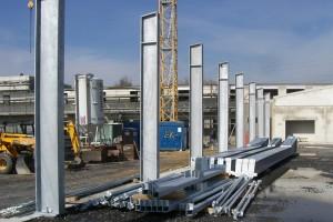 Neubau Niedersachsenring Fahrzeughalle