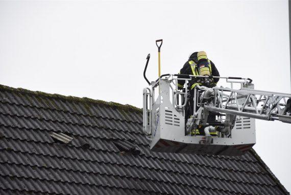 Gebäudebrand Püsselbürener Damm 24.12.2019 © IVZ Sabine Plake