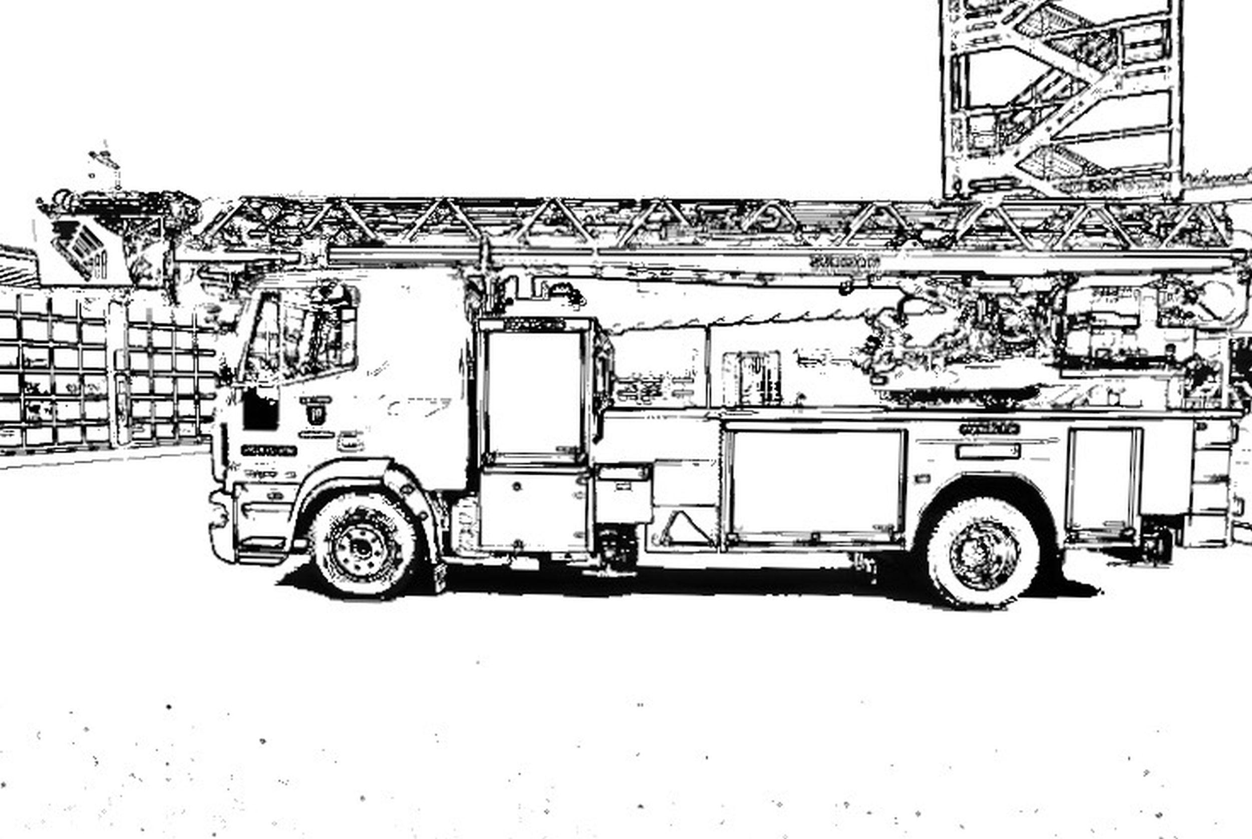 Kinderaktion – Ausmalbilder – Feuerwehr Ibbenbüren