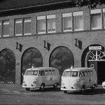 Die Fahrzeuge des Rettungsdienstes im Jahre 1961